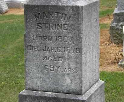 STRINE, MARTIN - Marion County, Ohio | MARTIN STRINE - Ohio Gravestone Photos