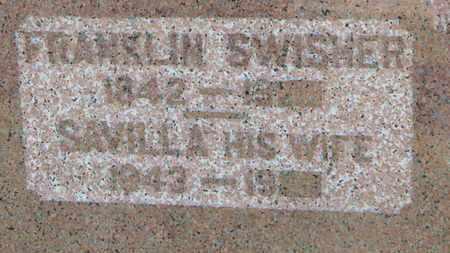 SWISHER, SAVILLA - Marion County, Ohio | SAVILLA SWISHER - Ohio Gravestone Photos