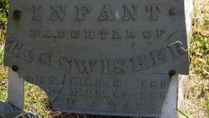 SWISHER, INFANT DAUGHTER - Marion County, Ohio | INFANT DAUGHTER SWISHER - Ohio Gravestone Photos