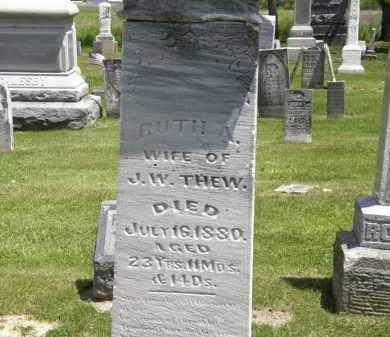 THEW, J.W. - Marion County, Ohio | J.W. THEW - Ohio Gravestone Photos