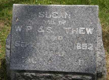 THEW, SUSAN - Marion County, Ohio | SUSAN THEW - Ohio Gravestone Photos