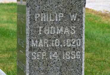 THOMAS, PHILIP W. - Marion County, Ohio | PHILIP W. THOMAS - Ohio Gravestone Photos