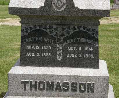 THOMASSON, EMILY - Marion County, Ohio | EMILY THOMASSON - Ohio Gravestone Photos