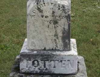 TOTTEN, M. - Marion County, Ohio | M. TOTTEN - Ohio Gravestone Photos