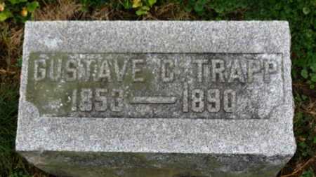 TRAPP, GUSTAVE C. - Marion County, Ohio   GUSTAVE C. TRAPP - Ohio Gravestone Photos
