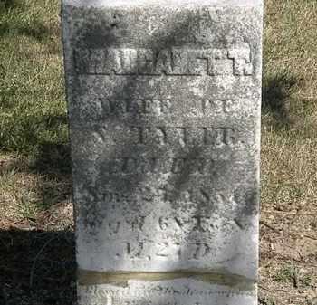 TYLER, MARGARET T. - Marion County, Ohio   MARGARET T. TYLER - Ohio Gravestone Photos
