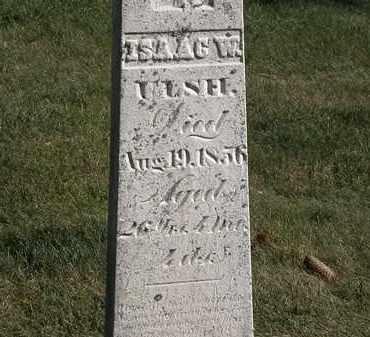 ULSH, ISAAC W. - Marion County, Ohio   ISAAC W. ULSH - Ohio Gravestone Photos