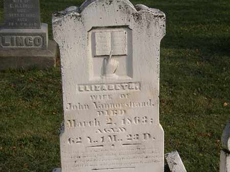 VANNORSTRAND, JOHN - Marion County, Ohio   JOHN VANNORSTRAND - Ohio Gravestone Photos