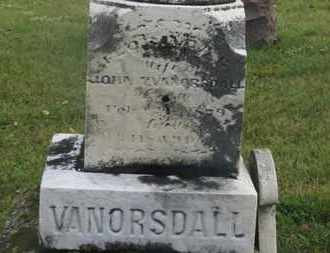 VANORSDALL, JOHN - Marion County, Ohio | JOHN VANORSDALL - Ohio Gravestone Photos