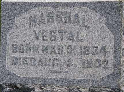 VESTAL, MARSHAL - Marion County, Ohio | MARSHAL VESTAL - Ohio Gravestone Photos
