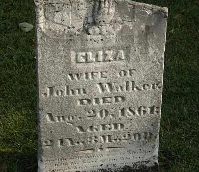 WALKER, ELIZA - Marion County, Ohio | ELIZA WALKER - Ohio Gravestone Photos