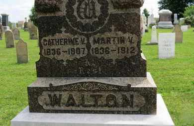 WALTON, CATHERINE V. - Marion County, Ohio | CATHERINE V. WALTON - Ohio Gravestone Photos