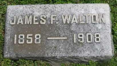 WALTON, JAMES F. - Marion County, Ohio | JAMES F. WALTON - Ohio Gravestone Photos