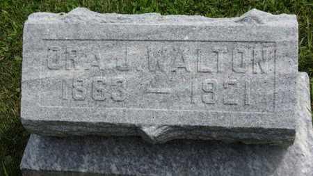 WALTON, ORA J. - Marion County, Ohio | ORA J. WALTON - Ohio Gravestone Photos
