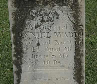 WARD, DANIEL - Marion County, Ohio   DANIEL WARD - Ohio Gravestone Photos