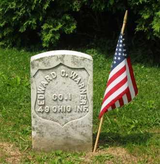WARNER, EDWARD C. - Marion County, Ohio | EDWARD C. WARNER - Ohio Gravestone Photos