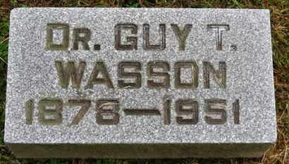 WASSON, GUY T. - Marion County, Ohio | GUY T. WASSON - Ohio Gravestone Photos
