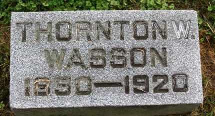 WASSON, THORTON W. - Marion County, Ohio | THORTON W. WASSON - Ohio Gravestone Photos