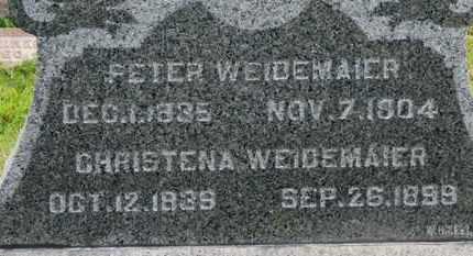 WEIDEMAIER, PETER - Marion County, Ohio | PETER WEIDEMAIER - Ohio Gravestone Photos