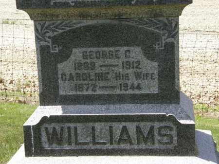 WILLIAMS, GEORGE C. - Marion County, Ohio   GEORGE C. WILLIAMS - Ohio Gravestone Photos