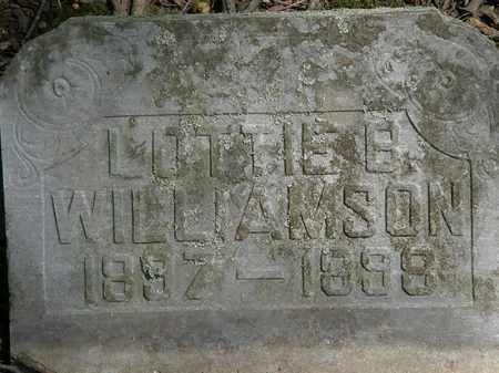 WILLIAMSON, LOTTIE B. - Marion County, Ohio | LOTTIE B. WILLIAMSON - Ohio Gravestone Photos