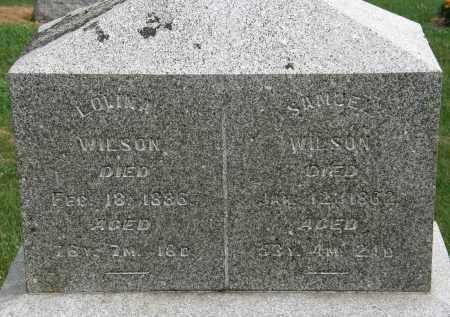 WILSON, LOVINA - Marion County, Ohio   LOVINA WILSON - Ohio Gravestone Photos