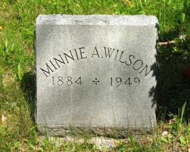 WILSON, MINNIE A. - Marion County, Ohio | MINNIE A. WILSON - Ohio Gravestone Photos