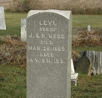 WOOD, LEVI - Marion County, Ohio | LEVI WOOD - Ohio Gravestone Photos