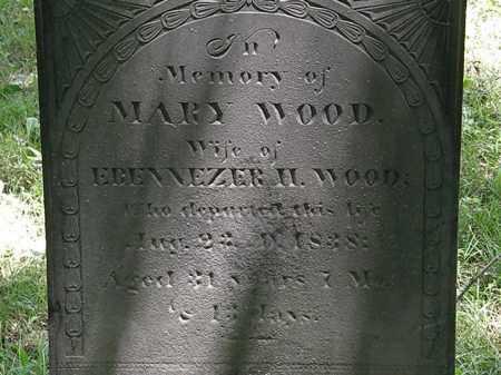 WOOD, EBENNEZER H. - Marion County, Ohio | EBENNEZER H. WOOD - Ohio Gravestone Photos