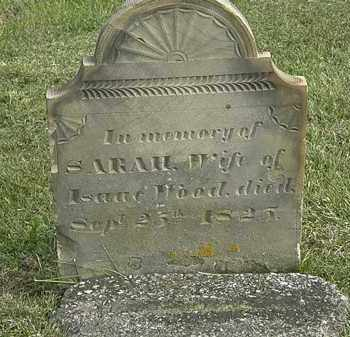 WOOD, SARAH - Marion County, Ohio   SARAH WOOD - Ohio Gravestone Photos