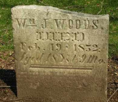 WOODS, WM. J. - Marion County, Ohio   WM. J. WOODS - Ohio Gravestone Photos