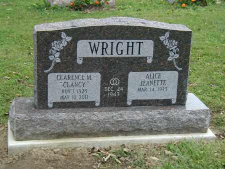 WRIGHT, ALICE - Marion County, Ohio | ALICE WRIGHT - Ohio Gravestone Photos