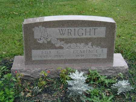 WRIGHT, CLARENCE - Marion County, Ohio | CLARENCE WRIGHT - Ohio Gravestone Photos