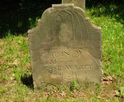 WYATT, JESSE - Marion County, Ohio   JESSE WYATT - Ohio Gravestone Photos