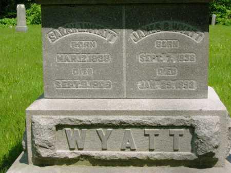 WYATT, JAMES B. - Marion County, Ohio   JAMES B. WYATT - Ohio Gravestone Photos