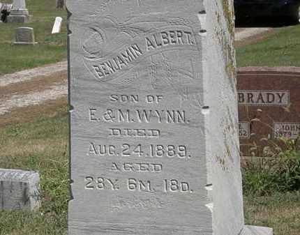 WYNN, E. - Marion County, Ohio | E. WYNN - Ohio Gravestone Photos