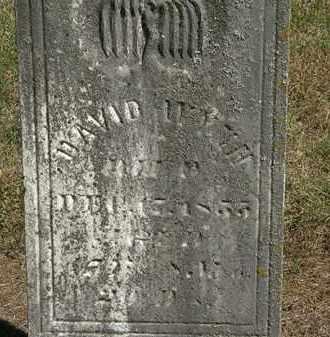 WYNN, DAVID - Marion County, Ohio | DAVID WYNN - Ohio Gravestone Photos