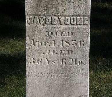 YOUNG, JACOB - Marion County, Ohio   JACOB YOUNG - Ohio Gravestone Photos