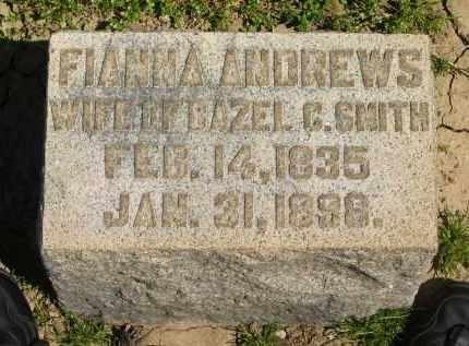 ANDREWS, FIANNA - Medina County, Ohio | FIANNA ANDREWS - Ohio Gravestone Photos