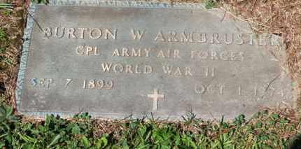 ARMBRUSTER, BURTON W. - Medina County, Ohio | BURTON W. ARMBRUSTER - Ohio Gravestone Photos