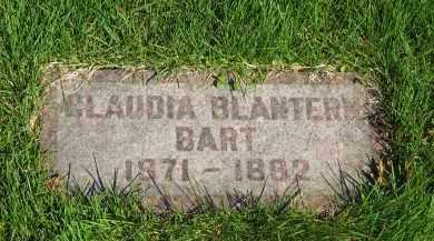 BLANTERN BART, CLAUDIA - Medina County, Ohio | CLAUDIA BLANTERN BART - Ohio Gravestone Photos