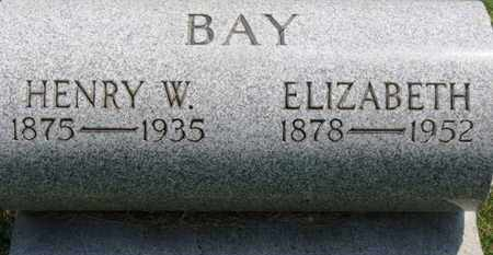 BAY, HENRY W. - Medina County, Ohio | HENRY W. BAY - Ohio Gravestone Photos