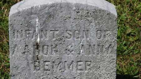 BEMMER, INFANT SON - Medina County, Ohio | INFANT SON BEMMER - Ohio Gravestone Photos