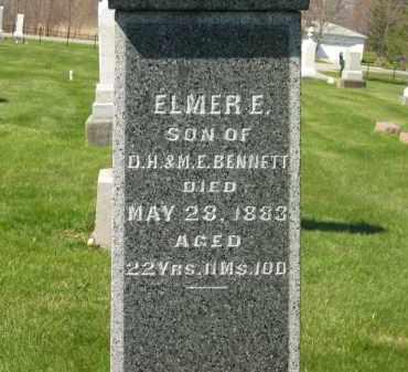 BENNETT, ELMER E. - Medina County, Ohio   ELMER E. BENNETT - Ohio Gravestone Photos