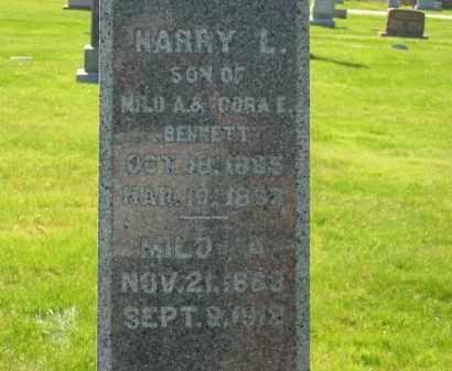 BENNETT, CORA E. - Medina County, Ohio | CORA E. BENNETT - Ohio Gravestone Photos