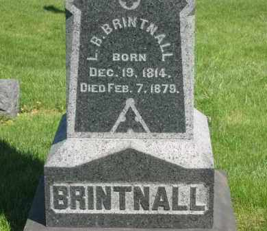 BRINTNALL, L. B. - Medina County, Ohio | L. B. BRINTNALL - Ohio Gravestone Photos