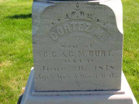 BURT, C. M. - Medina County, Ohio | C. M. BURT - Ohio Gravestone Photos