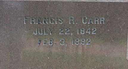 CARR, FRANCES R. - Medina County, Ohio | FRANCES R. CARR - Ohio Gravestone Photos