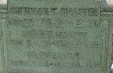 CHAFFEE, SHERMAN T. - Medina County, Ohio | SHERMAN T. CHAFFEE - Ohio Gravestone Photos
