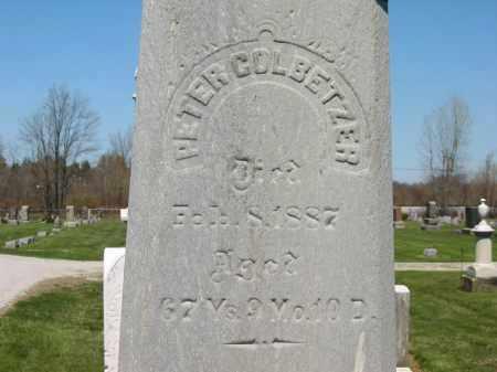 COLBETZER, PETER - Medina County, Ohio | PETER COLBETZER - Ohio Gravestone Photos